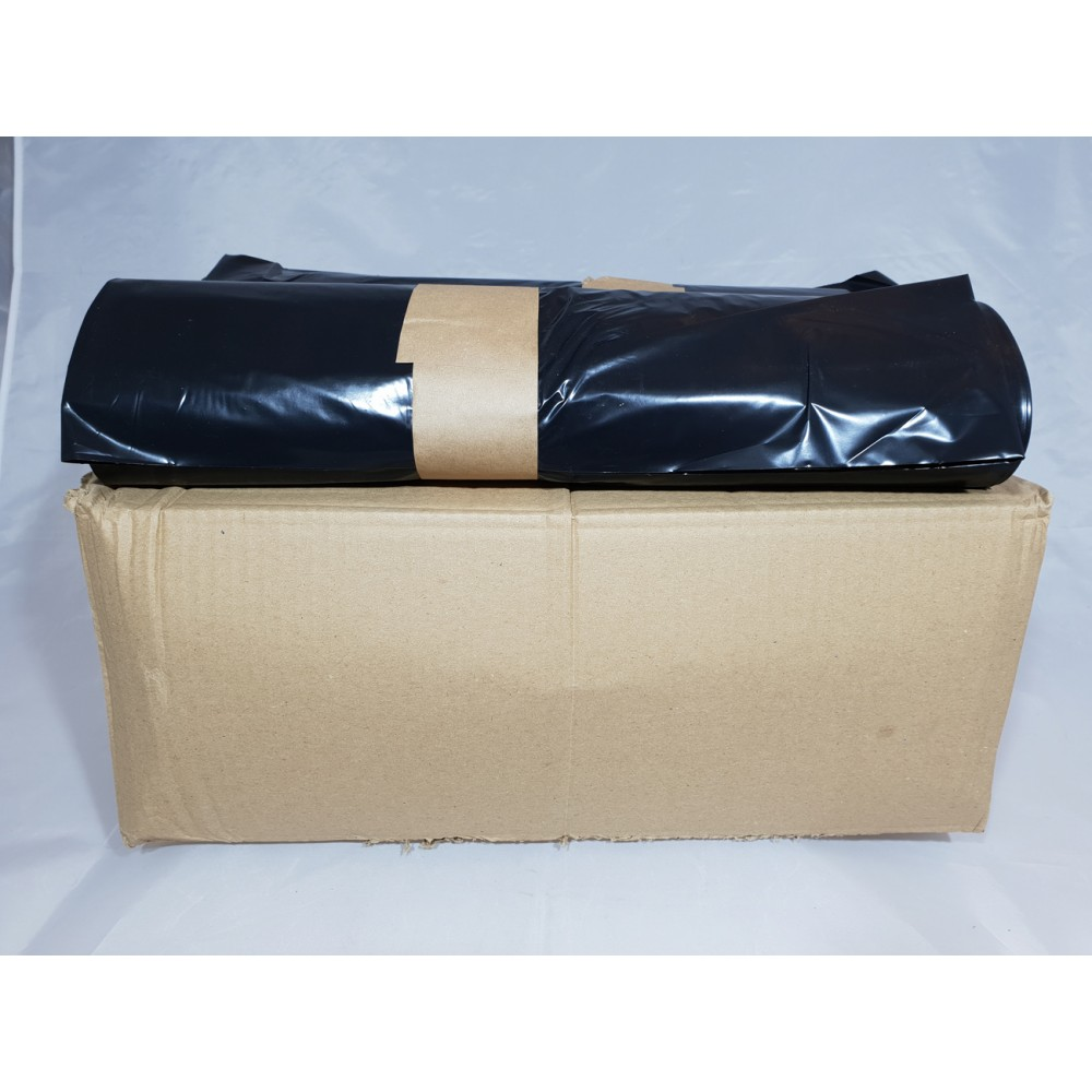 "Biodegradable Heavy Duty Black Bags  26"" x 44"" - 25 Bags Roll"