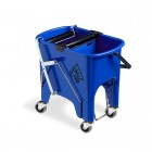 Squizzy 15L Colour Coded Mopping System With Wheels