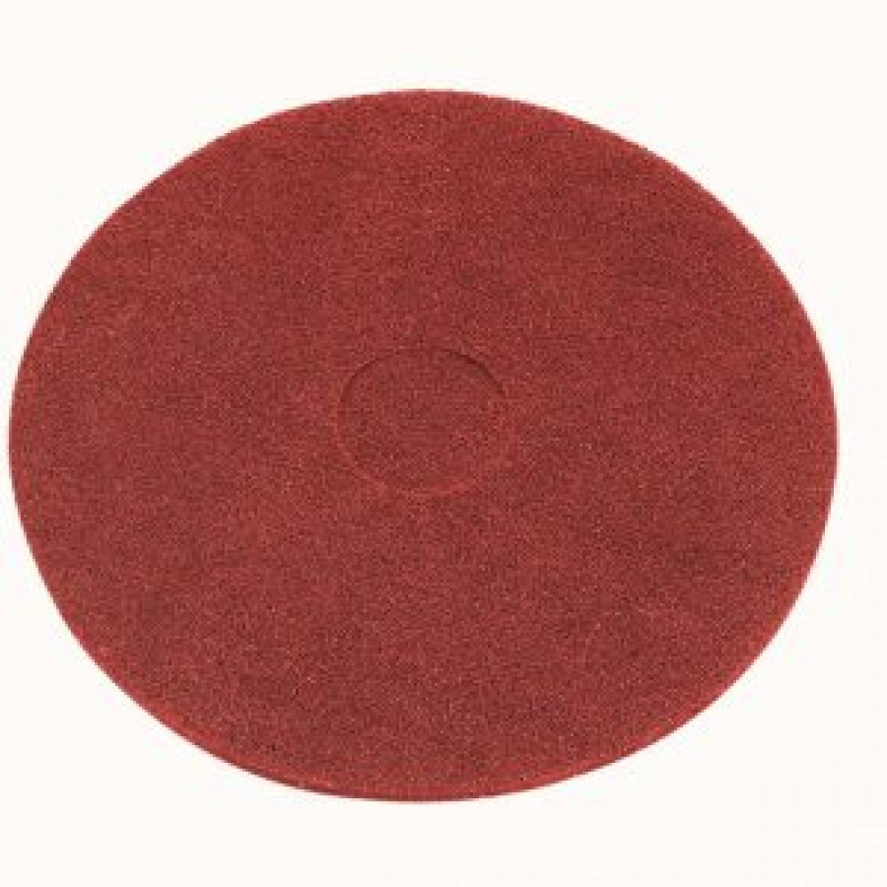 "17"" Red Floor Pads"