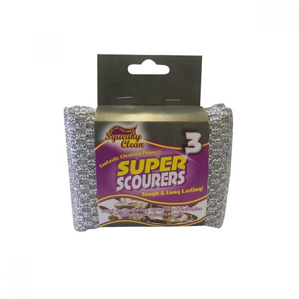 Squeaky Clean Super Scourers
