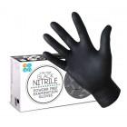 ASAP X-Tra Thick Black Nitrile Powder Free Examination Gloves