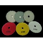 Diafil Pointflex 100 MM Worktop Polishing Diamond Pads | Velcro