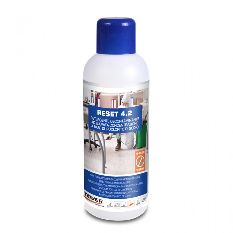 Hard Surface Cleaners Tover Reset 4 2 L Decontamination