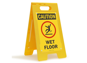 Wet Floor Sign & Wet Floor Cone