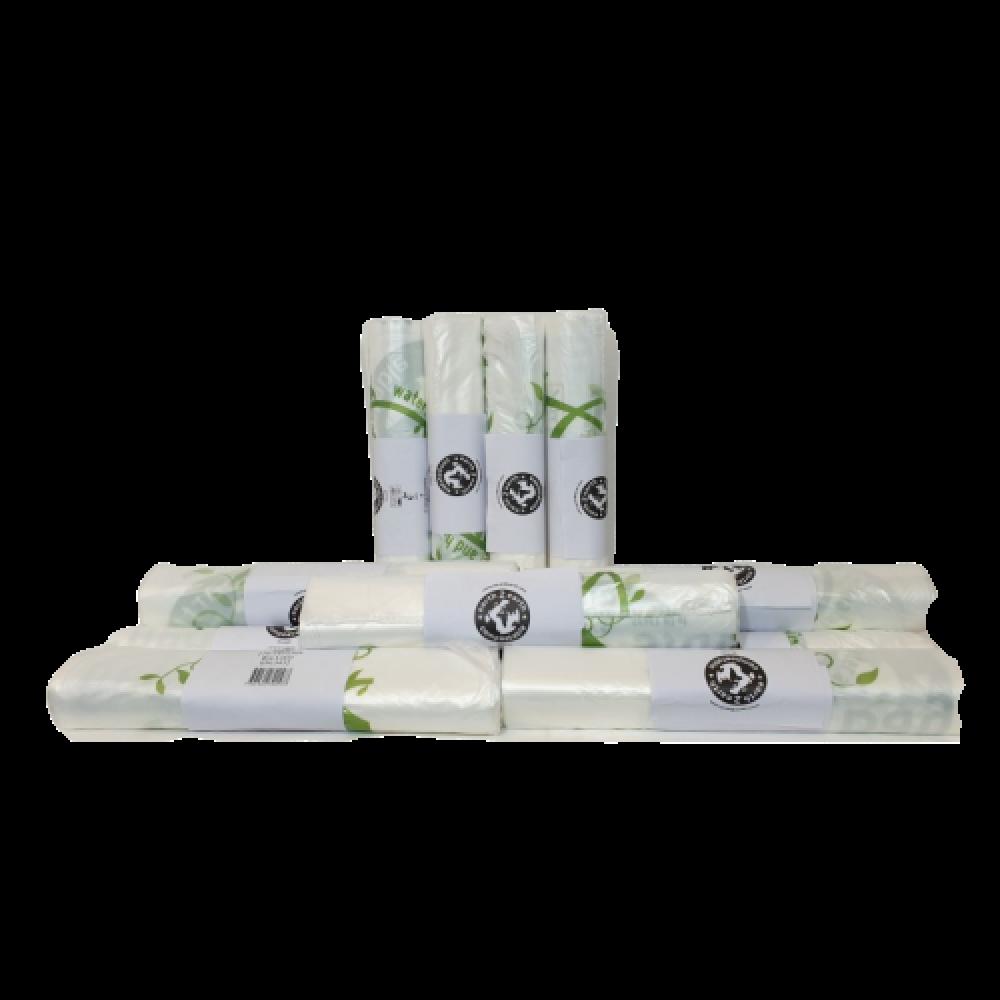 140L Compostable Bin Liners - 865 mm x 1370 mm - 100 Bags Per Box