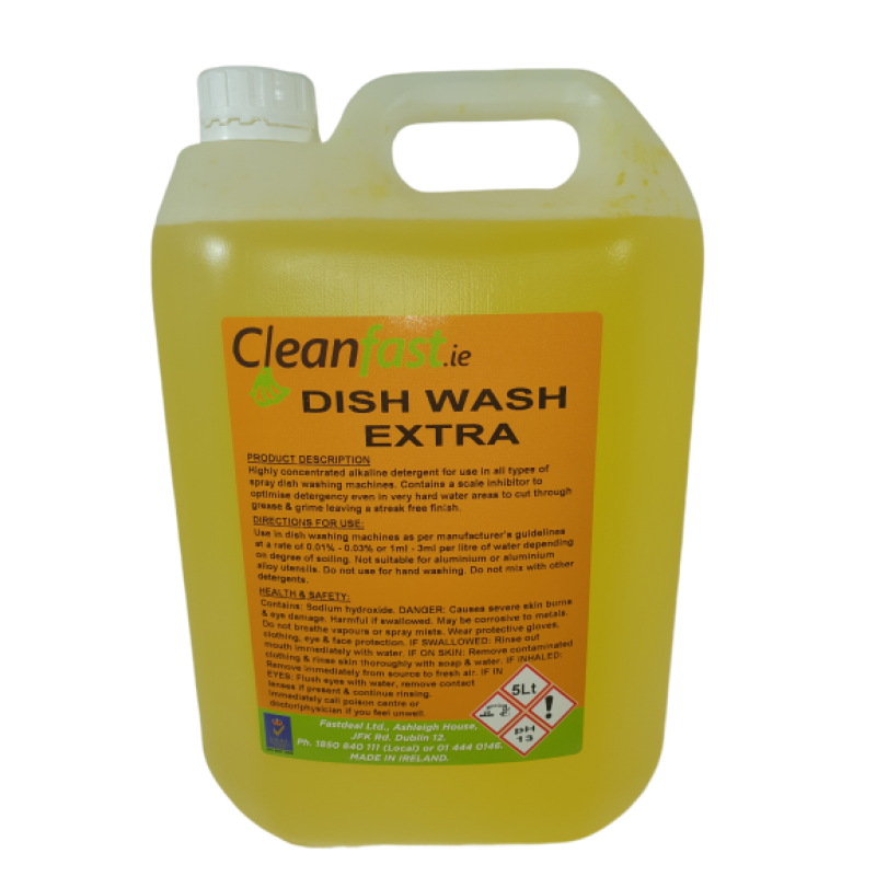 Catering Supplies Cleanfast Dish Wash Extra 5l