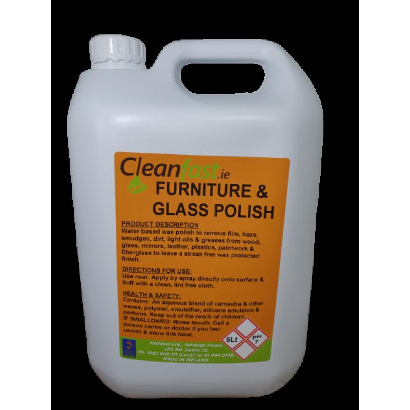 Cleanfast Glass Furniture Polish 5l, Can I Use Furniture Polish On Leather