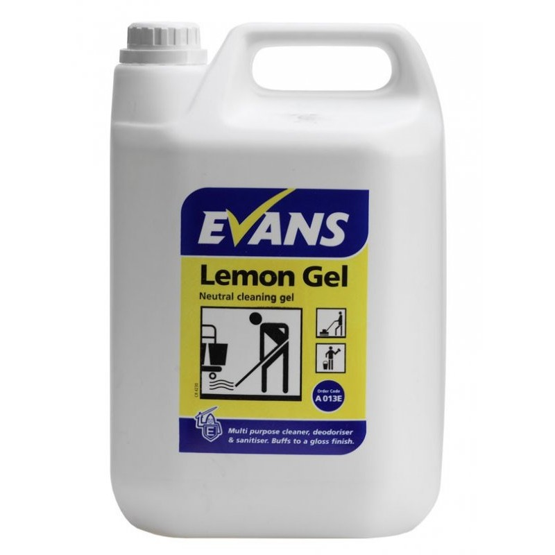 General Cleaning Products Lemon Gel Floor Cleaner Daily
