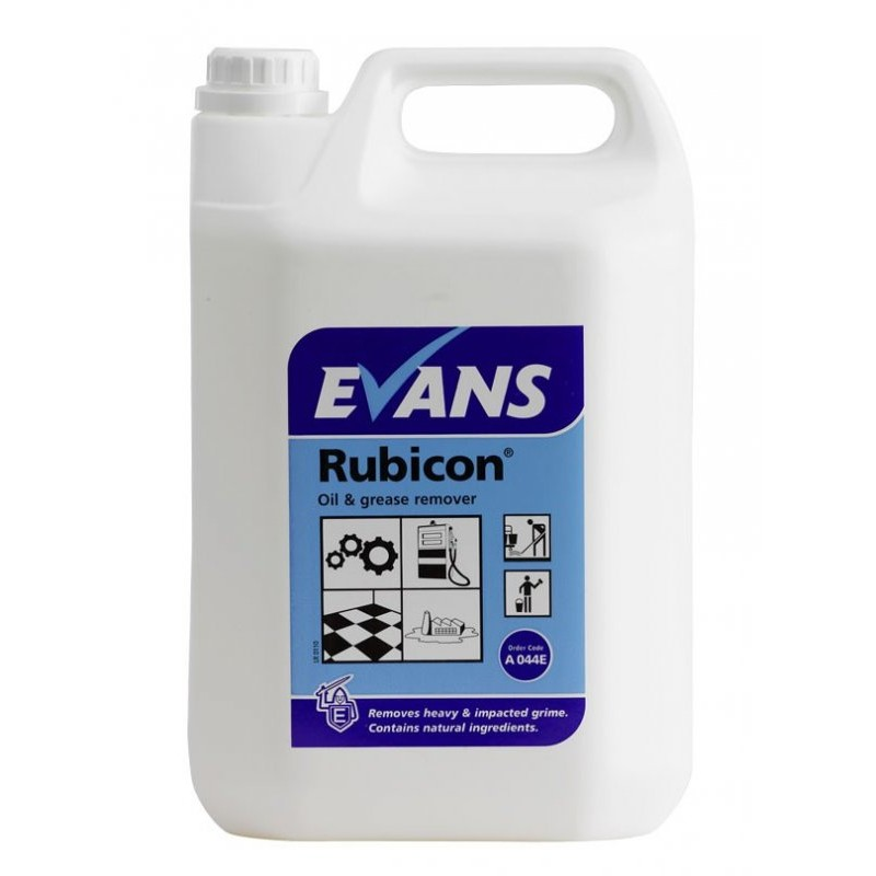 Heavy Duty Floor Cleaners Evans Rubicon Oil Remover 5l