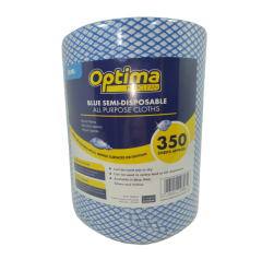 Optima Lightweight All Purpose Cloth Rolls - Blue