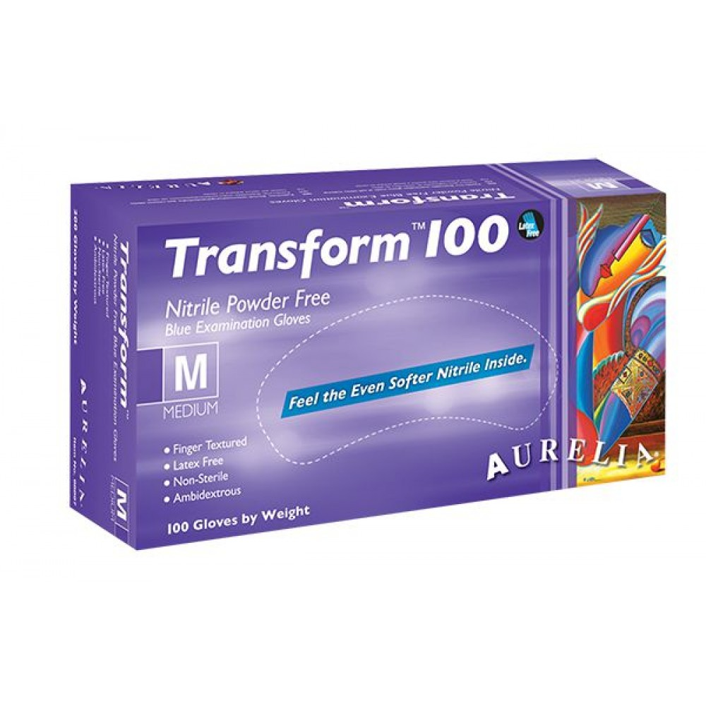 Aurelia Transform 100 Nitrile Gloves