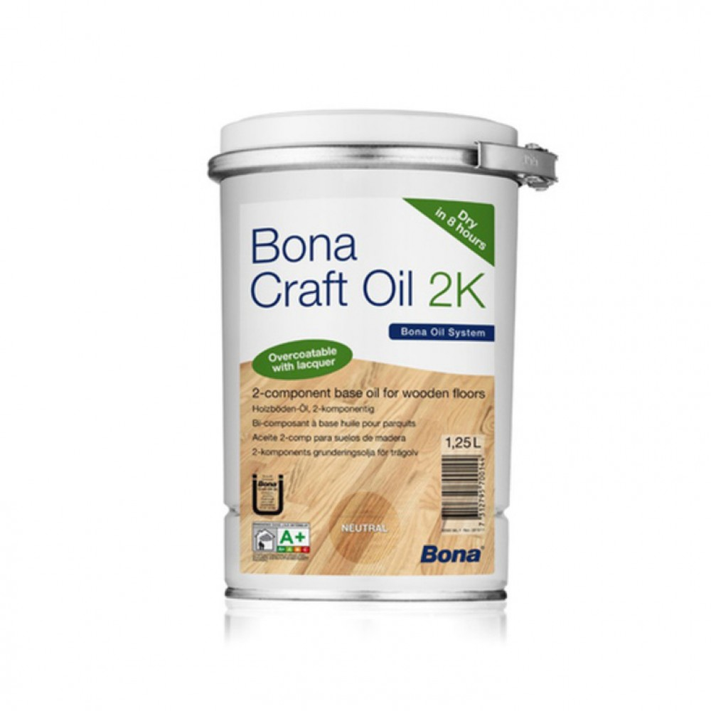 Bona Craft Oil 2K Ash - 1.25L