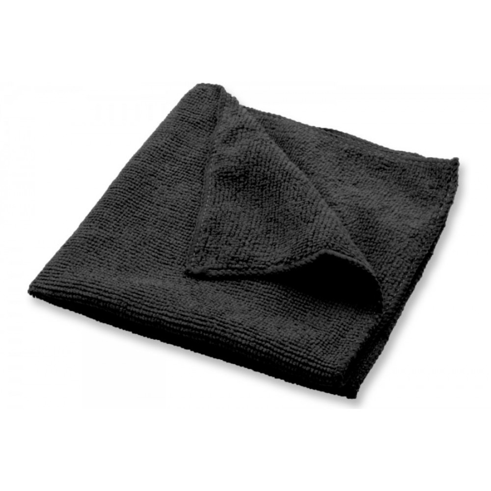 Black Microfiber Cloth