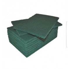 "Green Catering Scouring Pads 9"" x 6"""