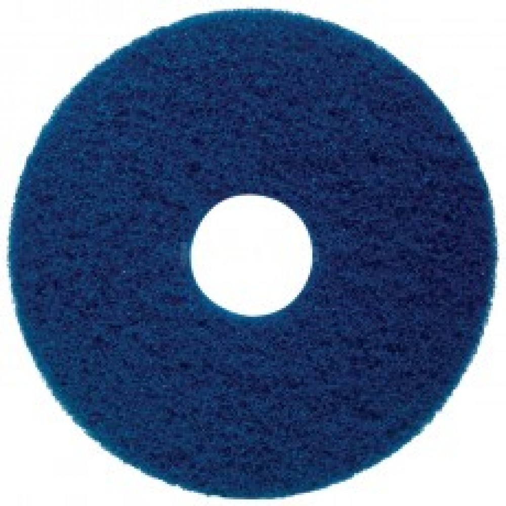 "17"" Blue Floor Pads"