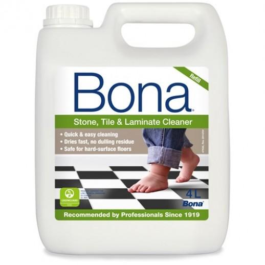 Bona Stone, Tile & Laminate Cleaner Refill 4L