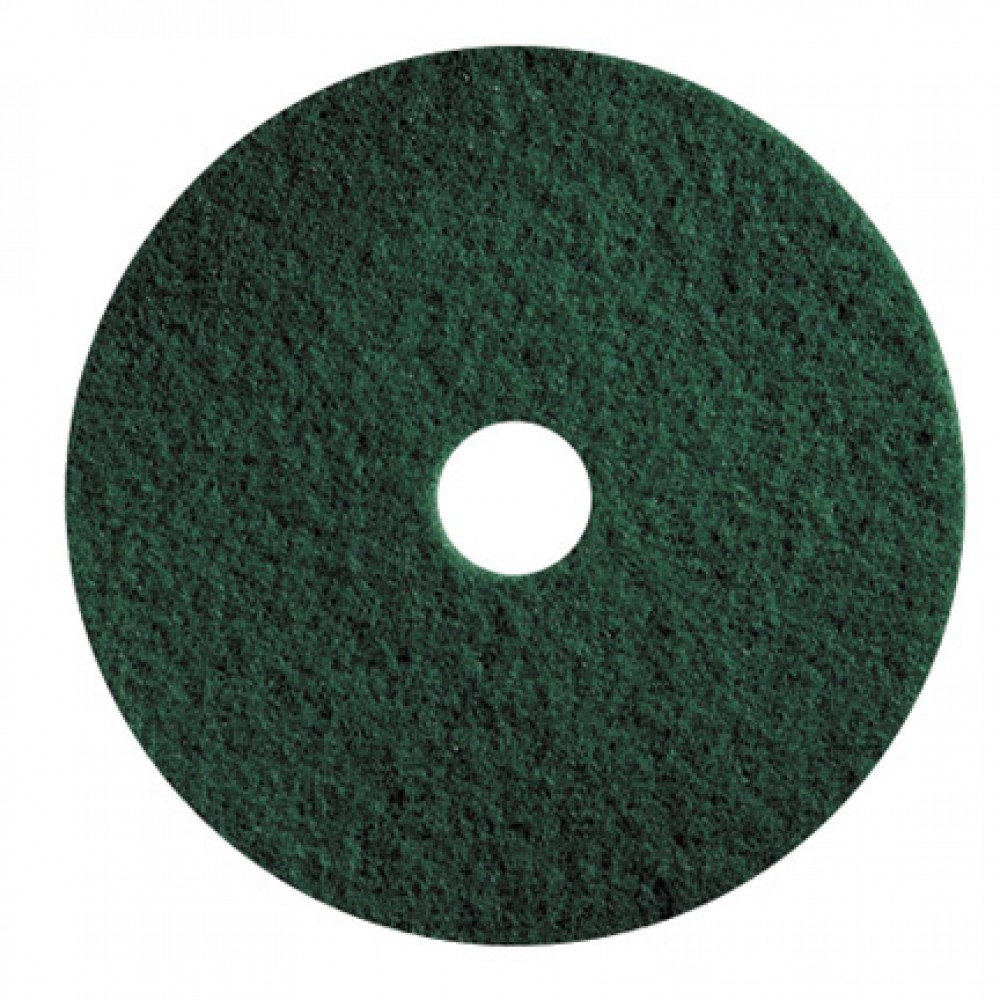 "17"" Green Floor Pads"