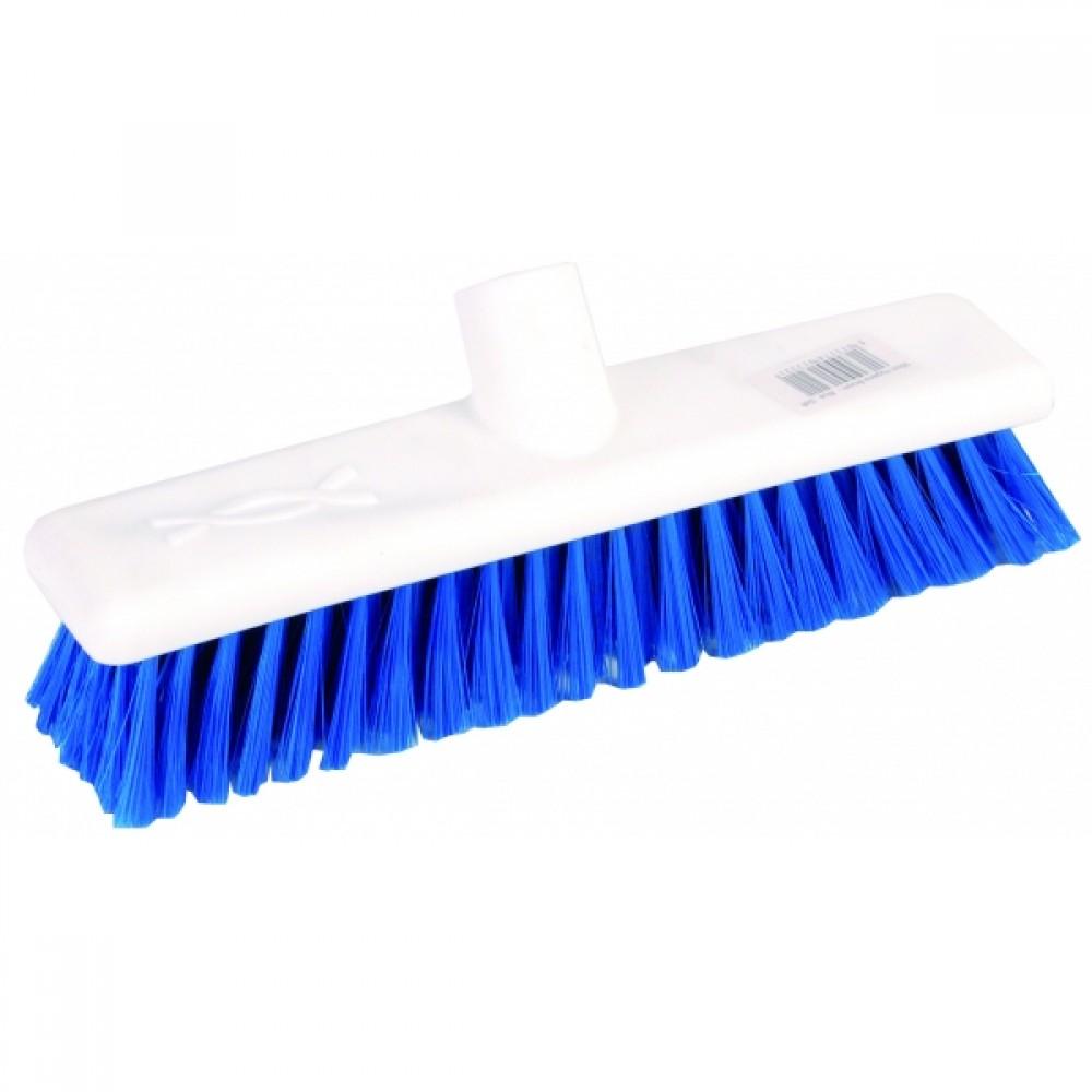 """12"""" Broom Hard Blue"""