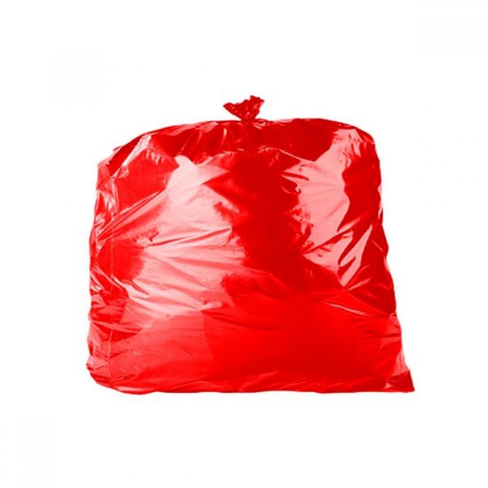 Biodegradable Red Refuse Bags