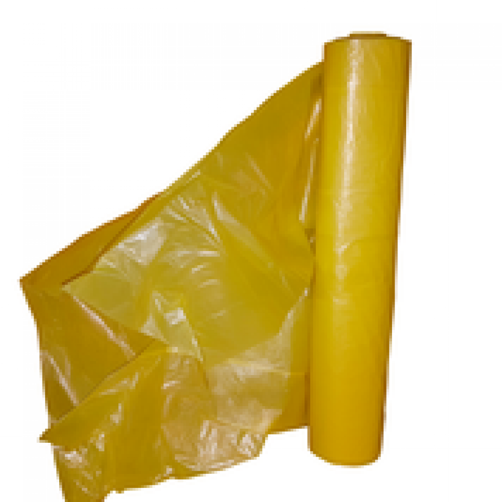Biodegradable Yellow Refuse Bags