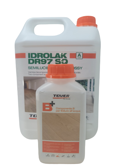 Add More Character To Your Wood Floor With The Tover Idrolak DR 97