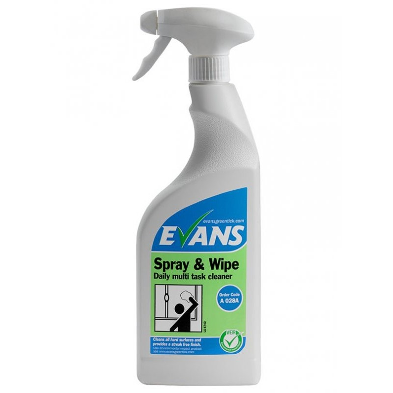 Evans Spray & Wipe Multi Purpose Cleaner 750 ml